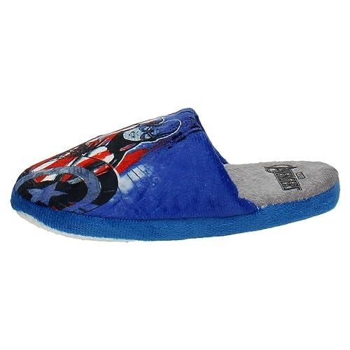 Cerdá Cerda 2300002828 Chinelas Vengadores Niño Zapatillas CASA Azul 29: Amazon.es: Zapatos y complementos