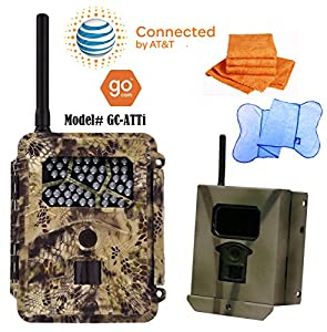 Spartan GoCam AT&T / VERIZON / U.S. Cellular (2-year warranty) with FREE Security Box - PLUS PKG DEAL by HCO Outdoors