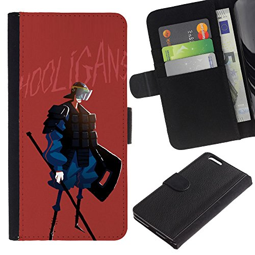 OMEGA Case / Apple Iphone 6 PLUS 5.5 / PEACE ON EARTH / Cuir PU Portefeuille Coverture Shell Armure Coque Coq Cas Etui Housse Case Cover Wallet Credit Card