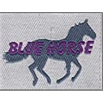 Blue Horse Soft Microfiber 5 Star Hotel Feel Printed Sleeping/Pillow/Antic Pillow for Bed Pack of – 1 (2)
