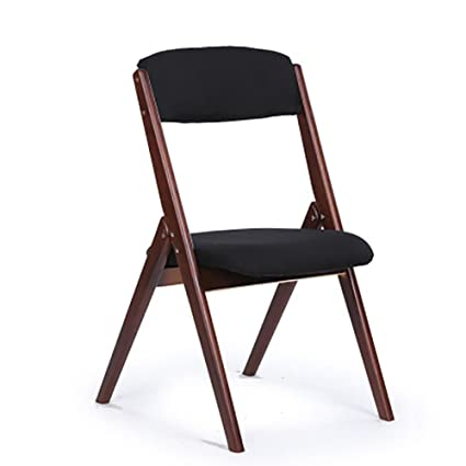 Folding Chair Home Modern Minimalist Dining Chair Desk Chair Portable Office Wooden Stool Adult Convenience Goods Furniture