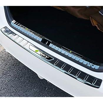 BeHave Autos Car Rear Bumper Guard Fit for Toyota Camry 2018 2019 Interior/&Exterior 2 Pieces Silver Stainless Steel Rear Bumper Cover Rear Bumper Protector