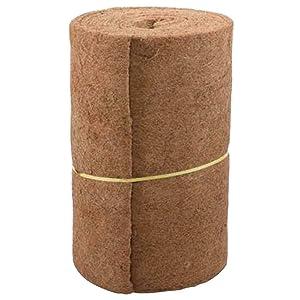 Centeraly Coconut Flowerpot Basket Liners, Flower Pot Coconut Mat, Coconut Liner Roll for Hanging Baskets Garden Wall Troughs