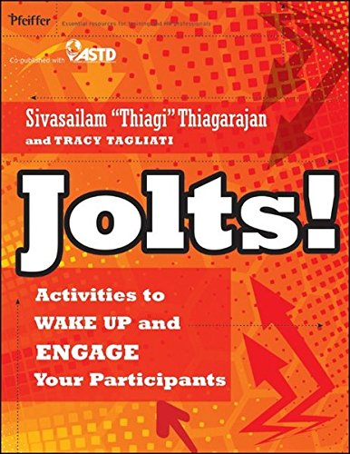 Jolts  Activities To Wake Up And Engage Your Participants