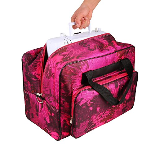 Utheing Sewing Machine Tote Bag Waterproof Lightweight Porta