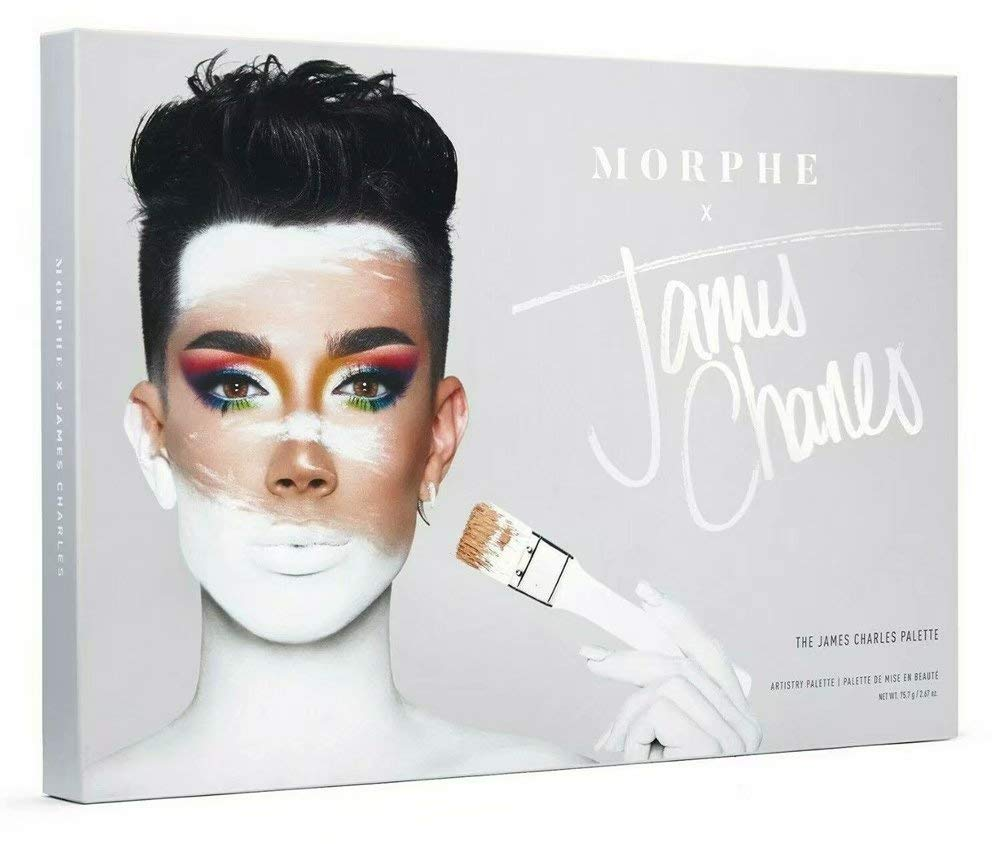 Amazon Com Morphe X James Charles Artistry Palette 39 Eyeshadows And Pressed Pigments Crazy Colorful Deeply Pigmented Shades Matte Metallic And Shimmer Shades Beauty Eyeshadow palettes, makeup brushes and lip colors from james charles, jaclyn hill, and others. morphe x james charles artistry palette 39 eyeshadows and pressed pigments crazy colorful deeply pigmented shades matte metallic and shimmer