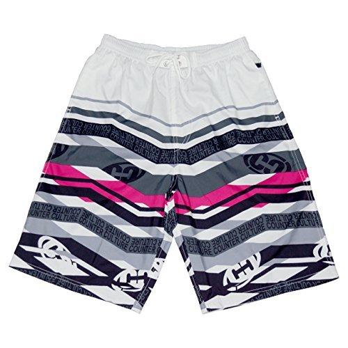 CROSSROAD Men's swimming trunks 0239-339(LL, White)