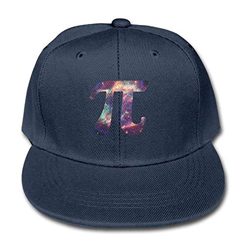 (Jay.L.E Galaxy Pi Solid Color Baseball Cap Snapback Hats Boys and Girl)