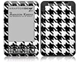 Houndstooth Black and White - Decal Style Skin fits Amazon Kindle 3 Keyboard (with 6 inch display)