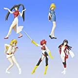 Gashapon HGIF Re Cutie Honey whole set of 5
