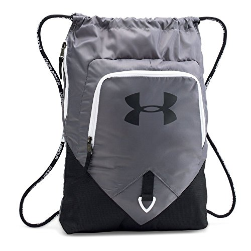 Under Armour Undeniable Sackpack, Graphite (040)/White, One Size -
