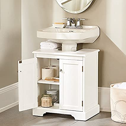 Bathroom Pedestal Sink Storage Cabinet. Weatherby Bathroom Pedestal Sink Storage Cabinet Improvements