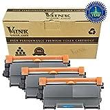 V4INK® 3 Pack Compatible TN450 TN420 Toner Cartridge Use for Brother HL-2270DW MFC-7240 MFC-7360N MFC-7365DN MFC-7460DN MFC-7860DW HL-2220 HL-2230 HL-2240 HL-2240D HL-2280DW DCP-7060D DCP-7065DN Series Printer