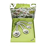 Portmeirion Botanic Garden Measuring Spoons, Set of 4