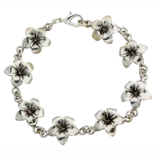 (Sterling Silver Dogwood Flower 7 1/2
