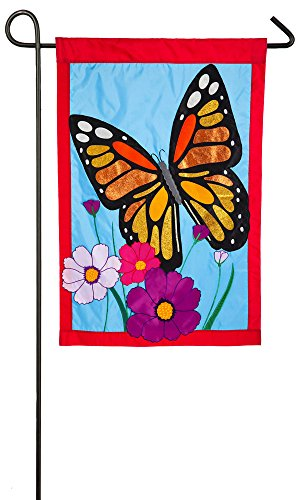 Evergreen Butterfly House (Evergreen Butterfly Applique Garden Flag, 12.5 x 18 inches)