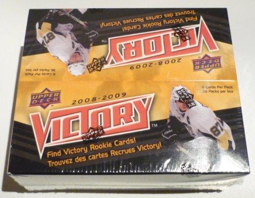 09 Trading Card Box - 2008-09 Upper Deck Victory Hockey Cards Box