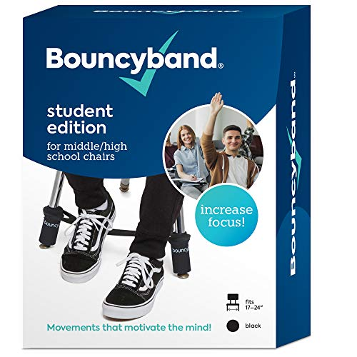 Original Bouncy Bands for Middle School and High School Chairs, Educational Tool That Helps Kids Actively Learn and Stay Engaged