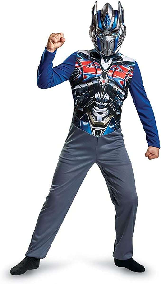 Transformers Optimus Prime Boys Fancy Dress Childs Costume Outfit Kids Classic