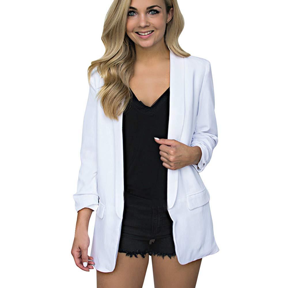 TWGONE Cardigan Sweaters for Women Long Sleeve Knitted Long Coat Shawl Collar Contrast Trim Side Zipper Outwear