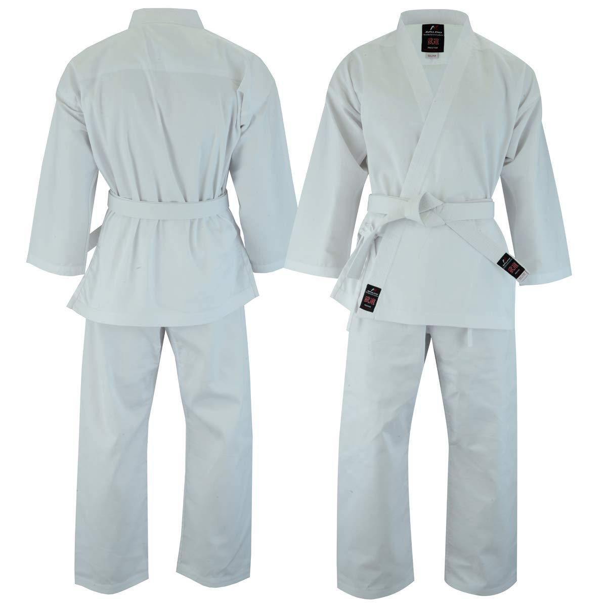 Malino Uniforme de Estudiante de Karate Blanco para los ...