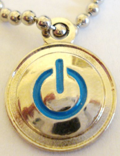You Turn Me On – Power Button Pendant