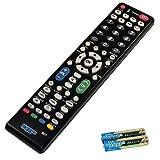 HQRP Remote Control for Sharp AQUOS LC-52SE94U LC-52XS1U-S LC-55LE620UT LC-57D90U LC-52SB55U LC-52SB57UN LCD LED HD TV Smart 1080p 3D Ultra 4K + HQRP Coaster
