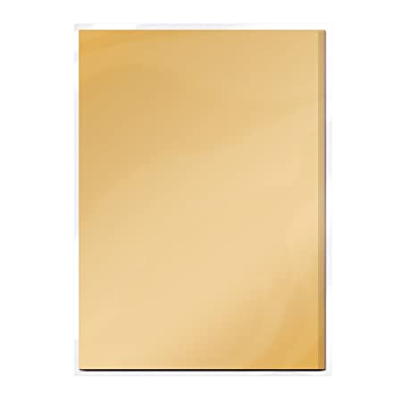Tonic Studios Satin Spiegelkarte A4 - Honig Gold