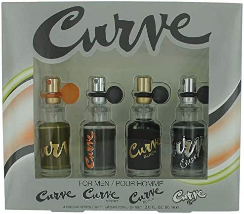Liz Claiborne Curve Collection 4 Piece Gift Set for Men