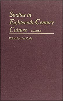 Studies in Eighteenth-Century Culture: Volume 42