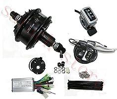 32 agujero 350 W 24 V bicicleta eléctrica Kit de Motor motorizado ...