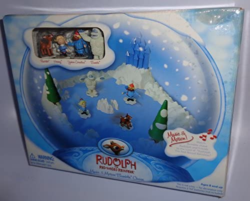 Rudolph the Red-Nosed Reindeer Music Motion Bumble Chase