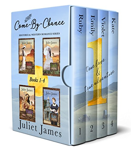 Come-By-Chance Western Romance: Books 1-4 (The Come-By-Chance Box Set Series) cover