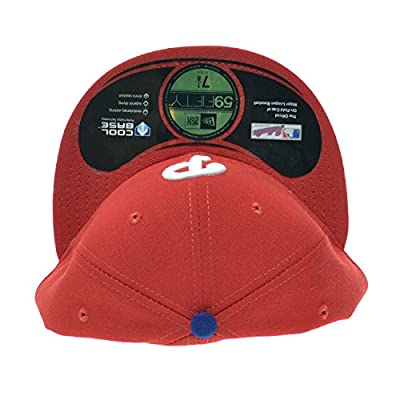 New Era Philadelphia Phillies MLB 59FIFTY Official On-Field Fitted Cap Red/White ne-acperf-phiphi-gm