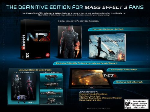 Buy mass effect 3 n7 collectors edition