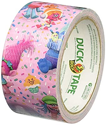 Duck 241710 DreamWorks Trolls Printed Duct Tape in Single Roll from DuckK