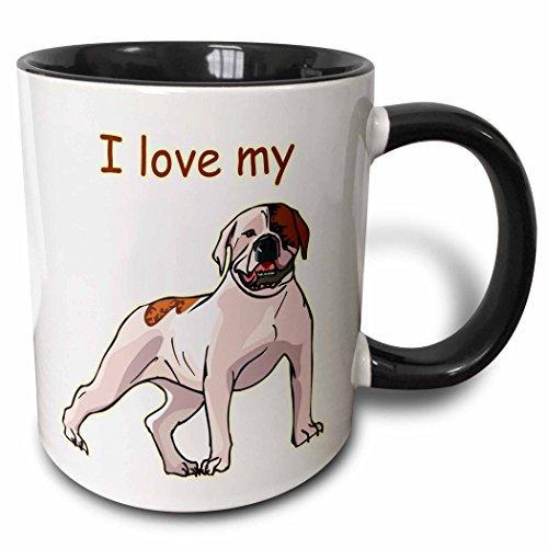 American Bulldog Bulldog - 3dRose 129011_4