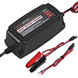 Yishen Battery Charger 12V 5A Maintainer 4-Stage For e-bike,motorcycle,electric vehicle electric tools, emergency light portable electronics devices field detection instrument Communication equipment