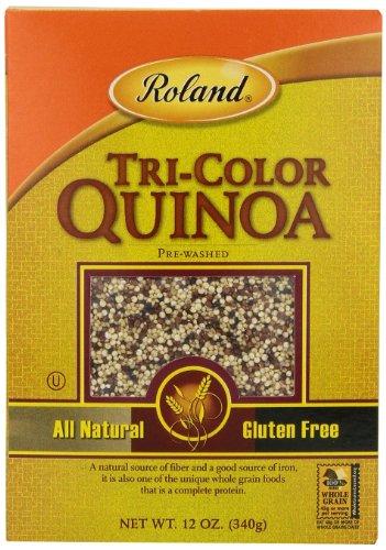 Roland Quinoa Tri Color 12 Ounce