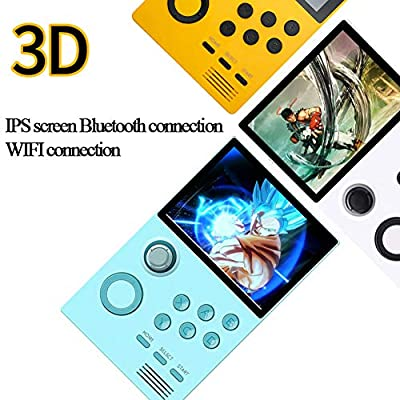 EXUVIATE Portable HD Handheld Game Console PSP Open Source Handheld Arcade with WiFi Portable for Kids, Best Birthday Gift,Blue: Sports & Outdoors