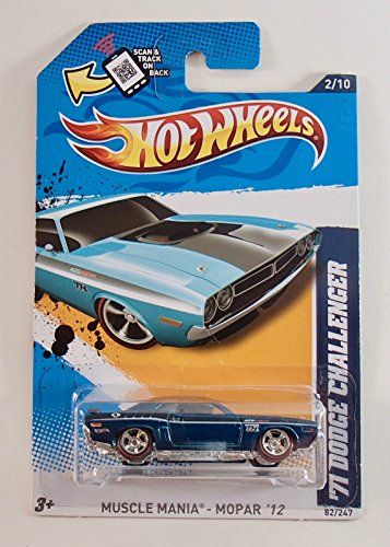 (Hot Wheels 2012 Super Treasure Hunt Muscle Mania - '71 Dodge Challenger)