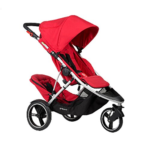 Phil and Teds Dash Buggy With Doubles Kit (Red) (Teds Double Kit Dash)