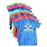 """Lacrosse Tie Dye T-Shirt - """"If Lacrosse was easy"""" Logo"""