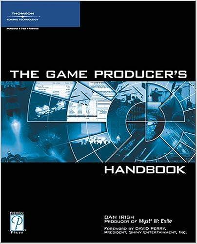 Book The Game Producer's Handbook by Daniel Irish (2005-03-11)