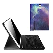 Fintie Blade X1 Samsung Galaxy Tab S2 9.7 Keyboard Case Cover - Slim Shell Light Weight Stand with Magnetically Detachable Wireless Bluetooth Keyboard for Tab S2 9.7-inch Tablet, Galaxy