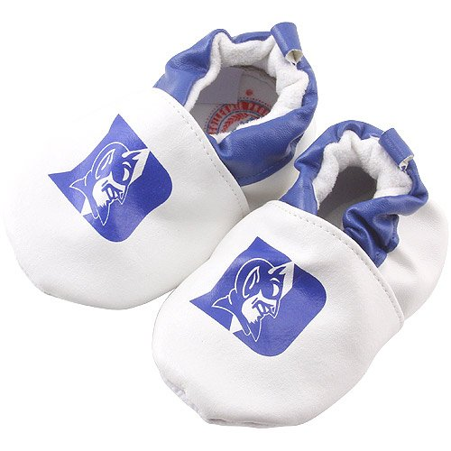Ncaa Duke Blue Devils Football - NCAA Duke Blue Devils Infant Booties - White (0-6 Months)