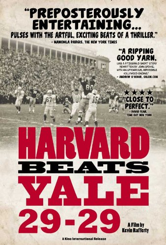 Harvard Beats Yale 29-29 Poster Movie 11x17 Tommy Lee Jones Brian Dowling Frank Champi Vic Gatto
