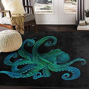 51al%2B9V-cSL._SS300_ Best Octopus Area Rugs