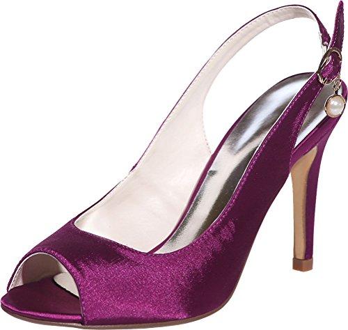 EU Mules Violet Violet 5 36 CFP Femme HgqYxf