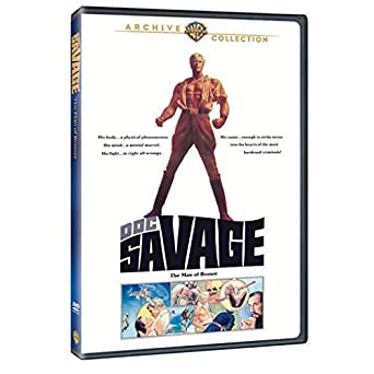 Doc Savage The Man of Bronze 1975 Ron Ely region 2 by Ron Ely ...